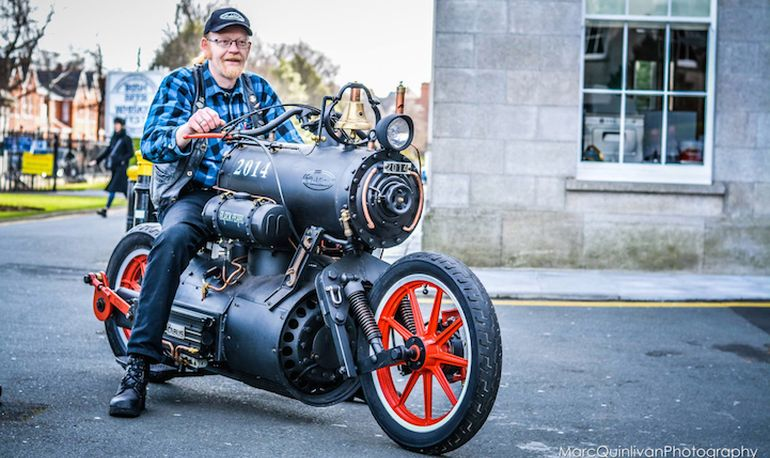 Black Pearl Revatu Customs Steam Engine