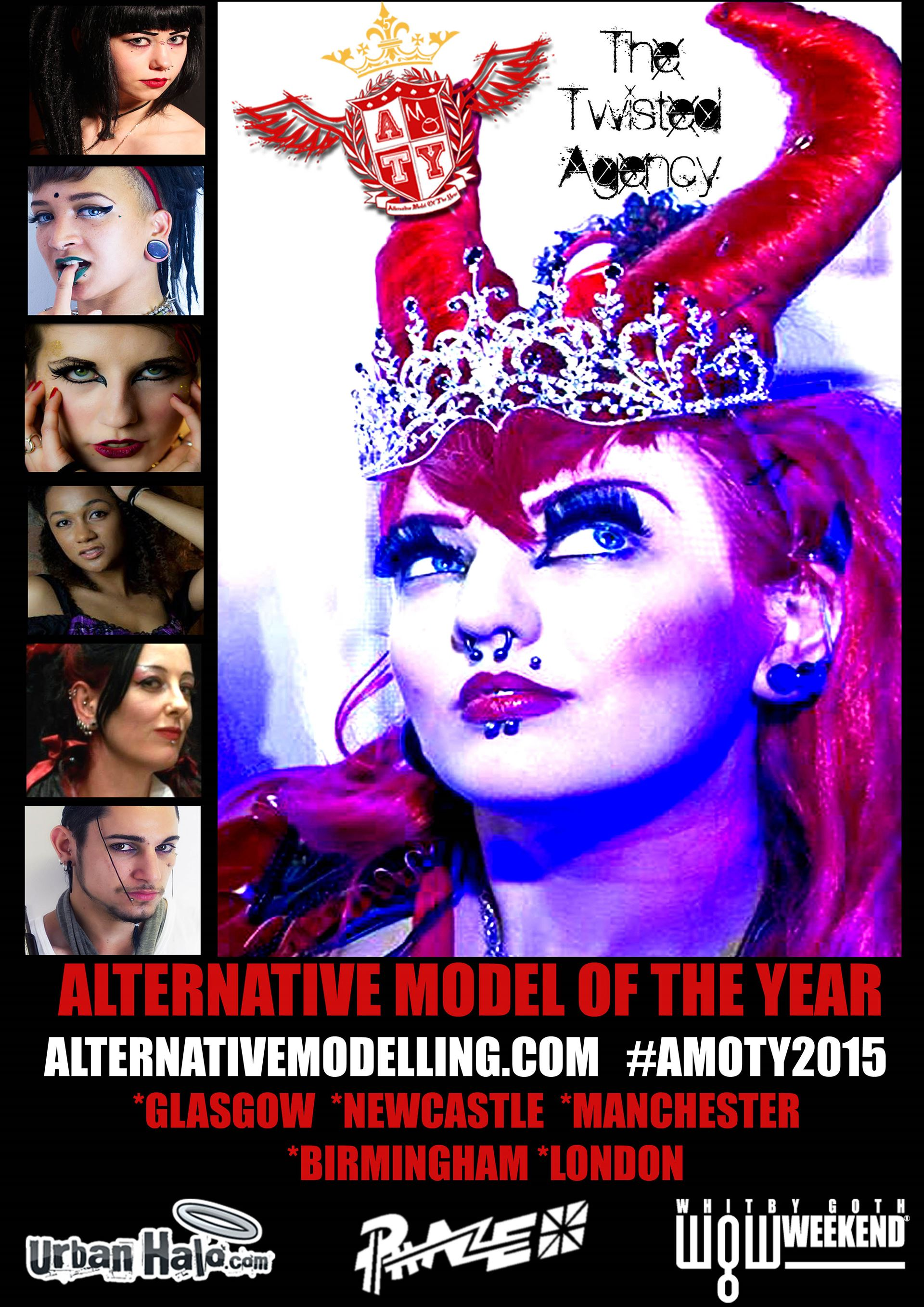 Alternative Model of The Year UK Promo