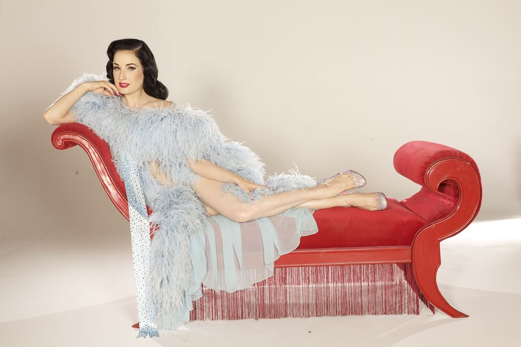 02c0d6885 Dita Von Teese grew up fascinated by the Golden Age of Cinema