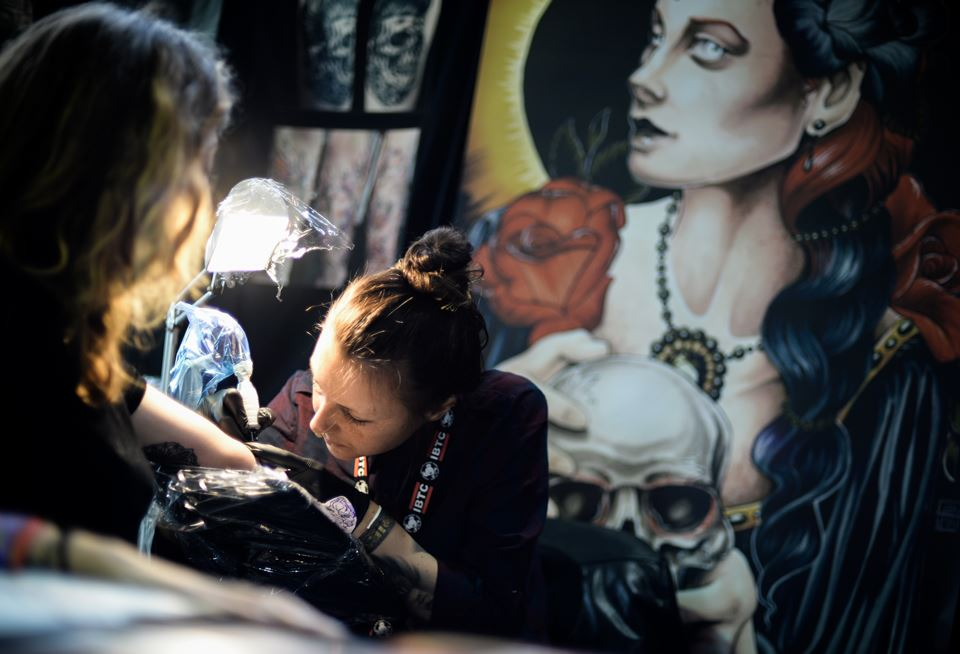 International Brussels Tattoo Convention IBTC 2014 Photo by Peter de Jongh