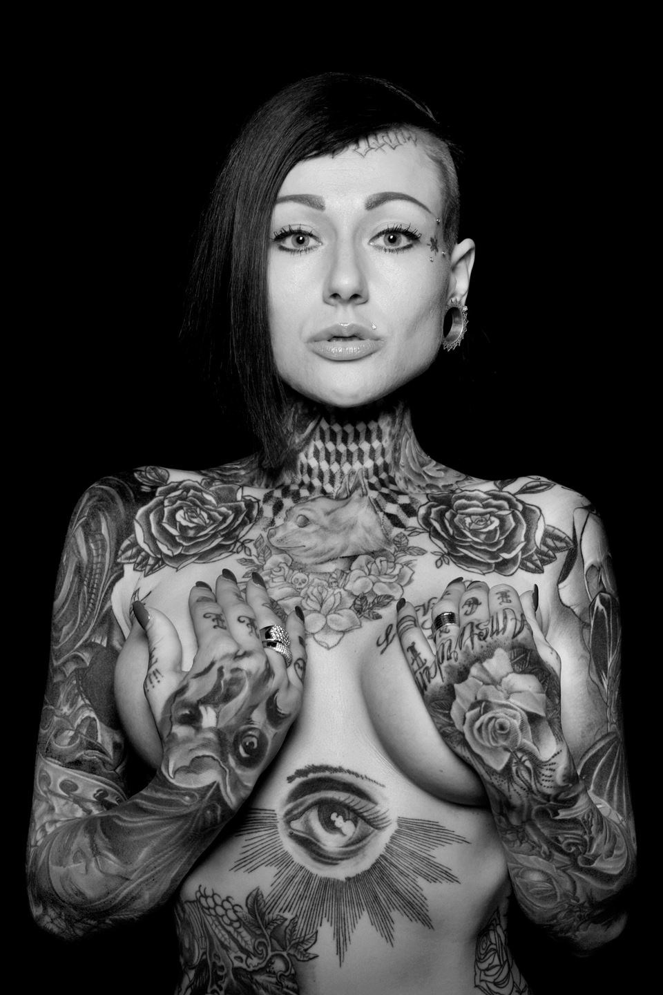 Photo by Benoit Meeus From The Book Tattoo Identity