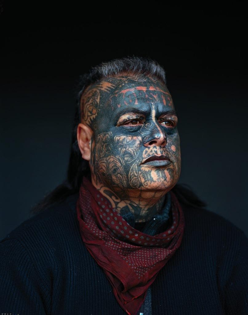 Portraits of New Zealand's Mighty Mongrel Mob
