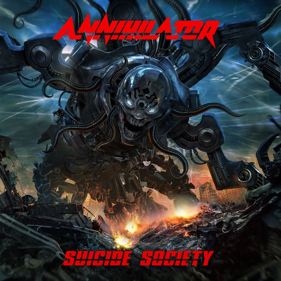 Annihilator Suicide Society Cover