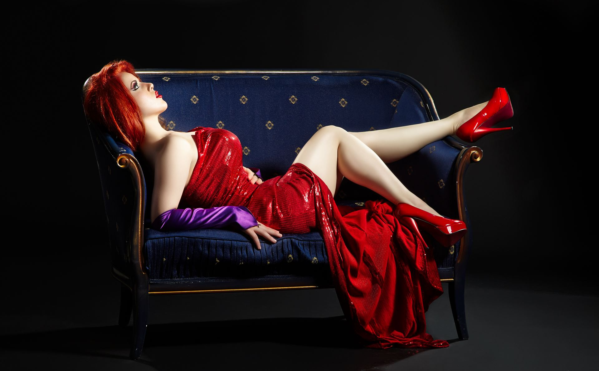 Jessica Rabbit Model Martina Devilish Dimoska Photo by Martin Spasovski Dress by Daniel Dimov MUAH by Studio Veronija