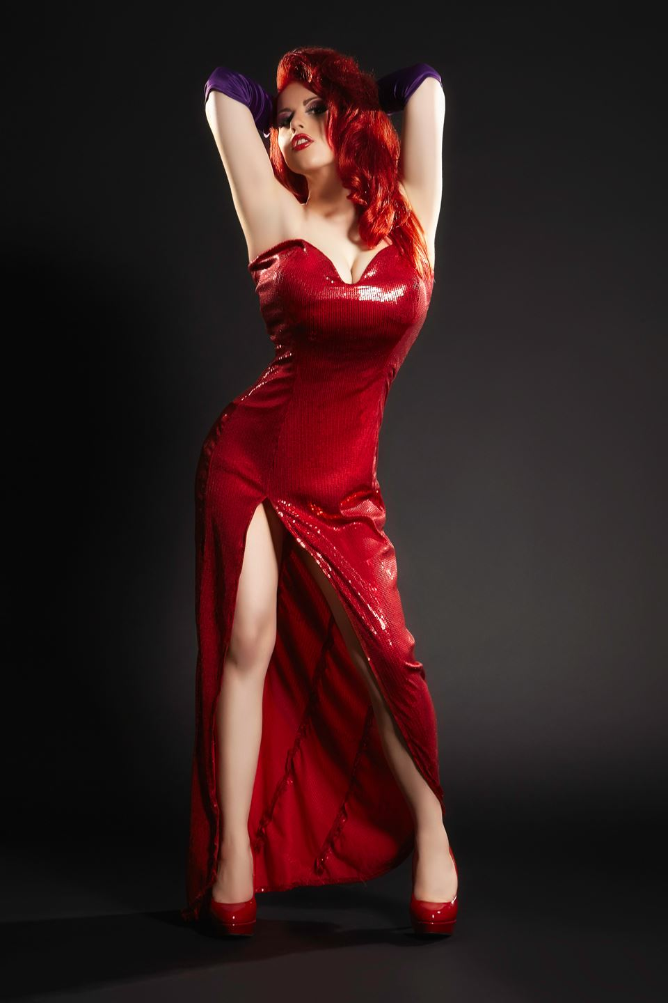 Jessica Rabbit - I am the first cosplayer model in ...