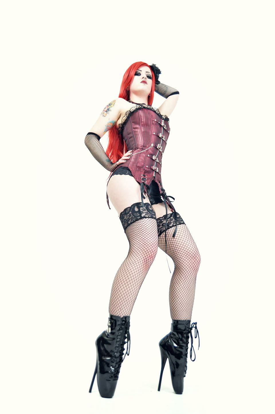 Kitty Von Crypt Photo by Mark Coxon Jaded Images