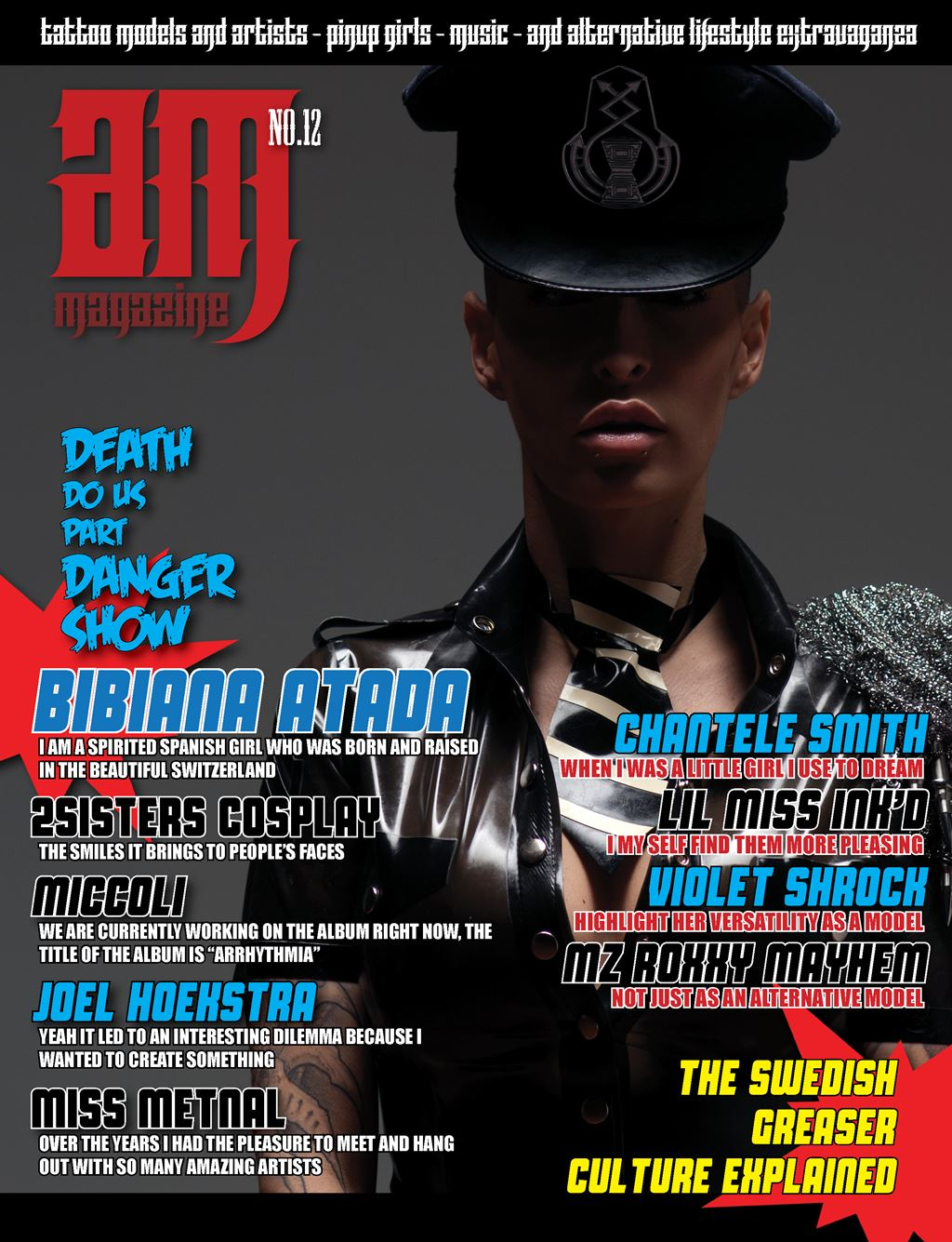 Azaria Magazine No.12 Cover