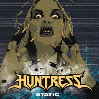 Huntress Static Album Cover