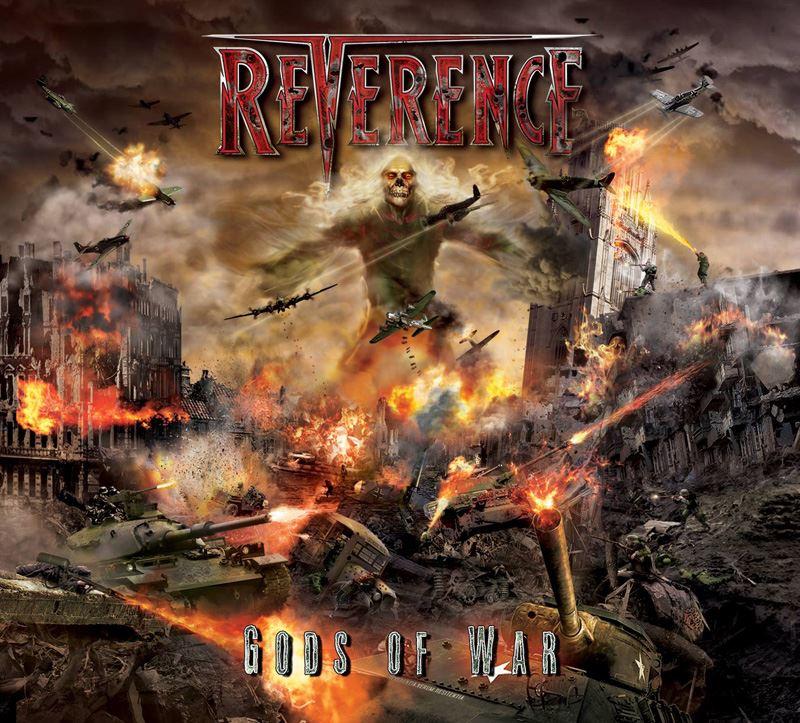 Reverence Gods of War Album Cover