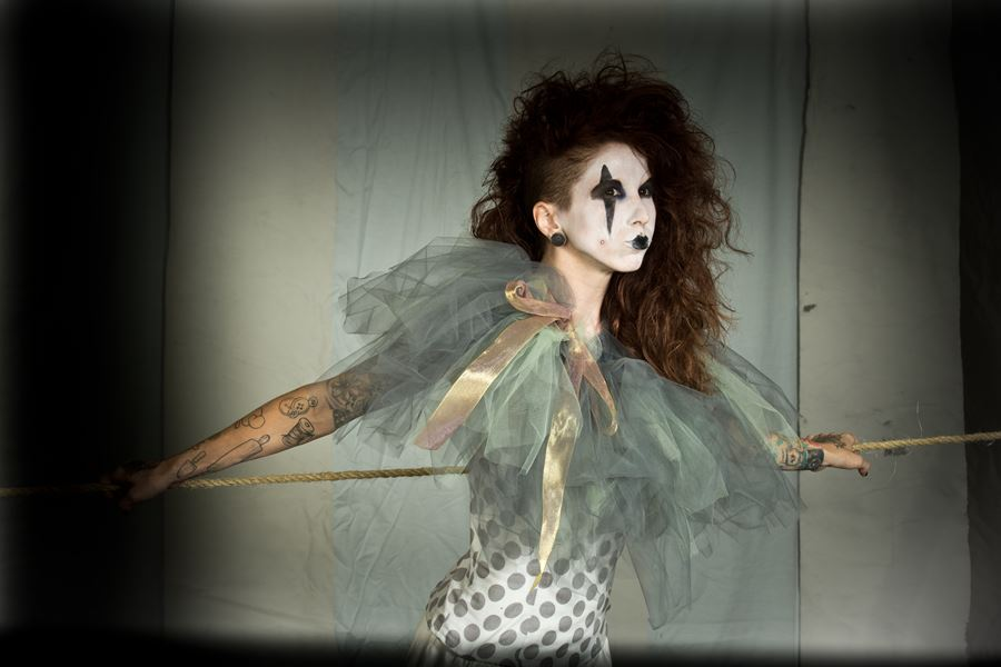 Circus Model Little Miss Monster Photo by Thomas H.P. Jerusalem