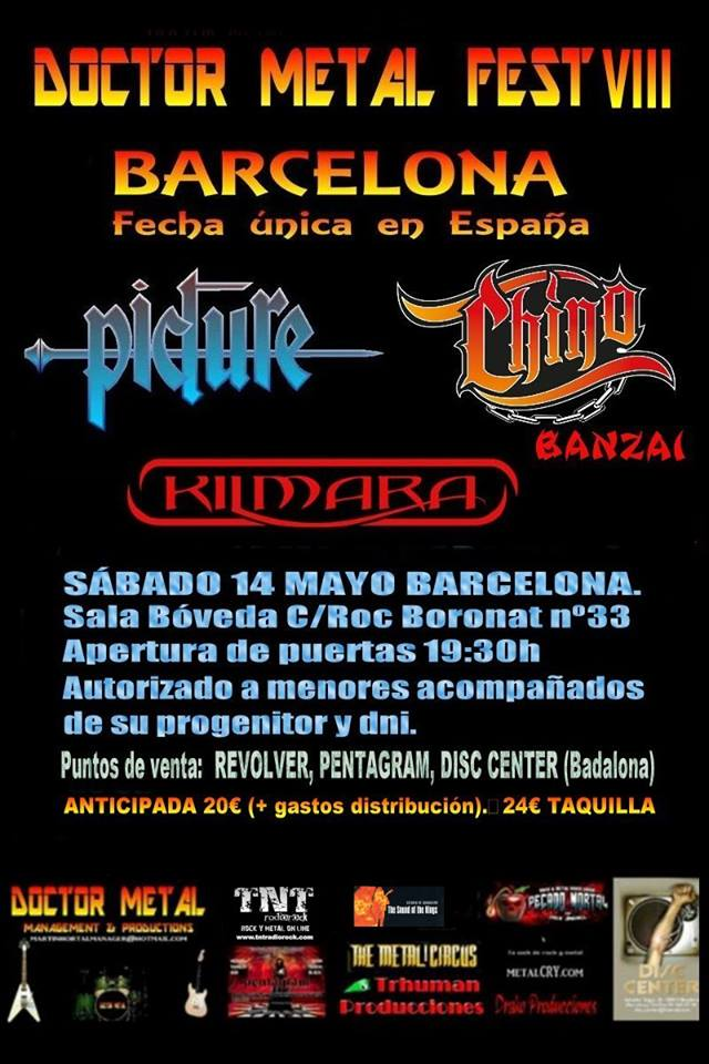 Doctor Metal Fest VIII Barcelona Spain