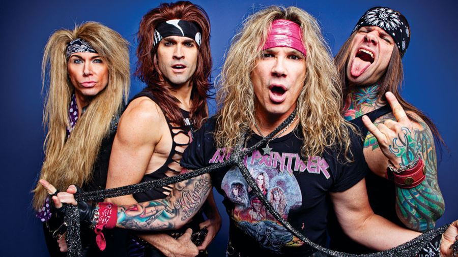 The Internationally Renowned Glam Rock Band Steel Panther