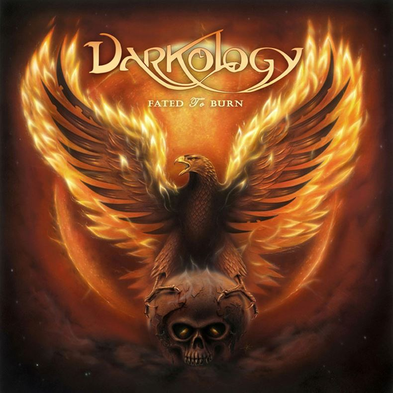 Darkology Fated to Burn Album Cover