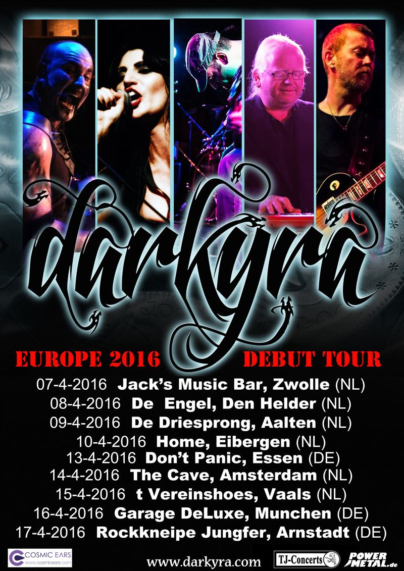 Darkyra Tour 2016
