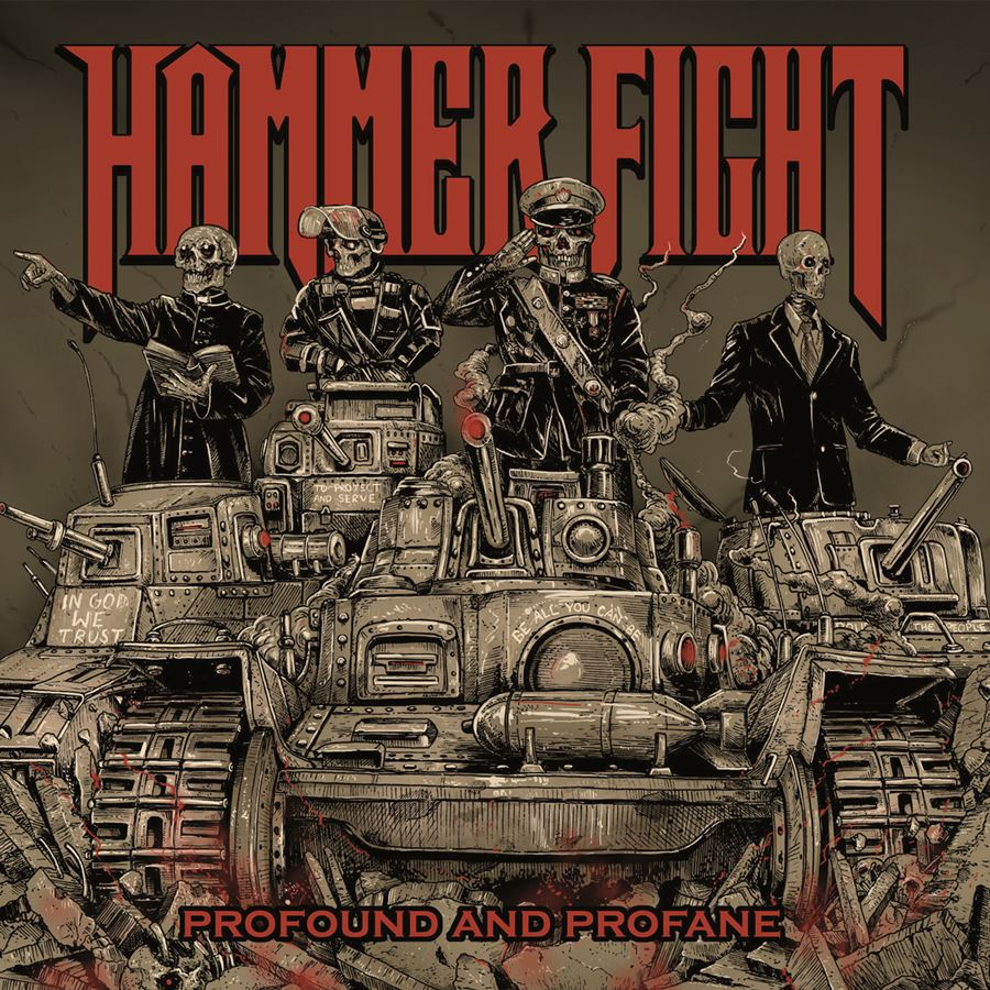 Hammer Fight Profound And Profane Album Cover