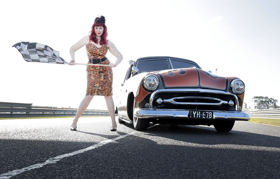 Lucky Dip GreazeFest Kustom Kulture Festival Photo by Nicole Cleary Future Vintage