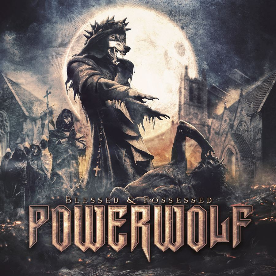 Powerwolf Blessed And Possessed Album Cover
