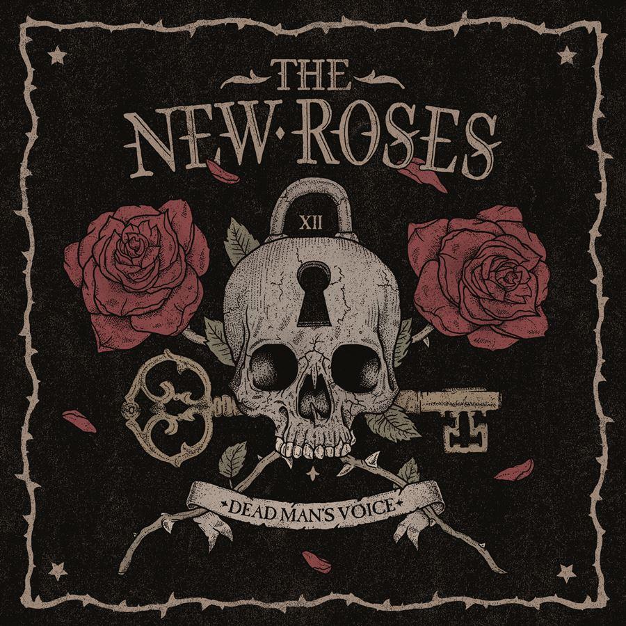 The New Roses Dead Man's Voice Album Cover