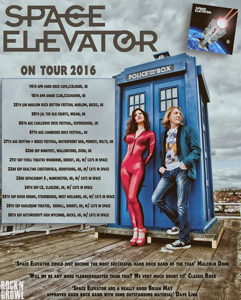 Space Elevator on Tour 2016