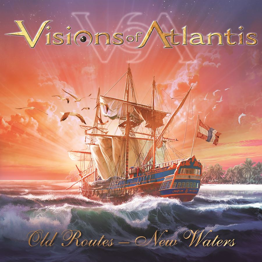 Visions of Atlantis Old News New Waters Album Cover