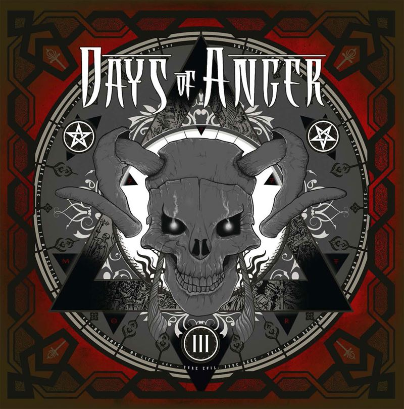 Days of Anger III Album Artwork