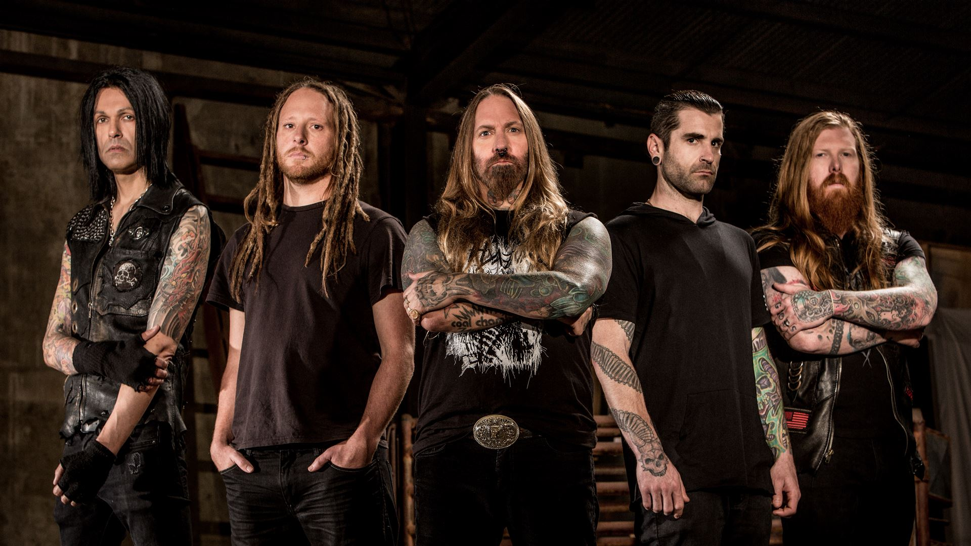 Devildriver Photo by Ben Hoffmann