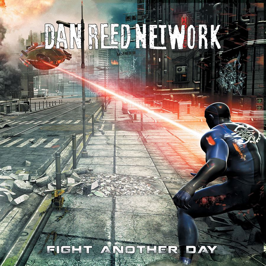 Dan Reed Network Fight Another Day Album Artwork