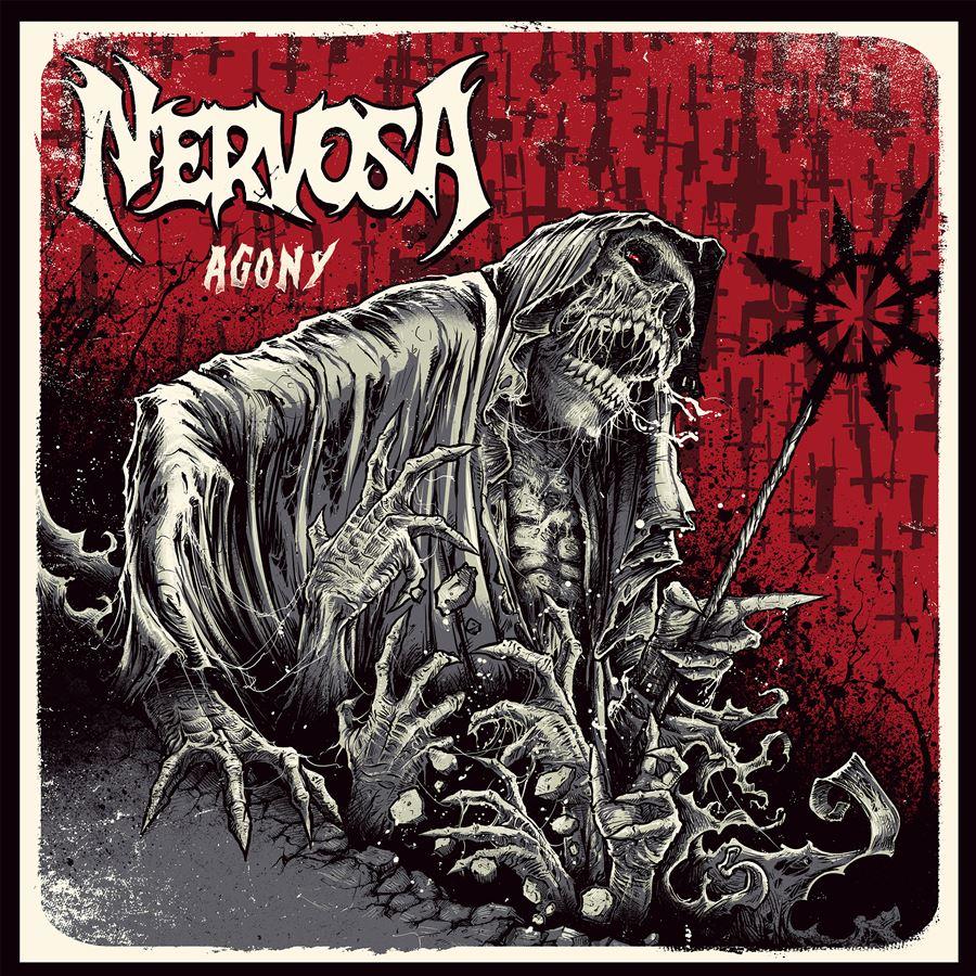 Nervosa Agony Album Artwork