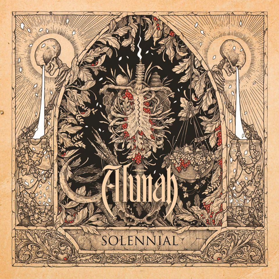 Alunah Solennial Cover Artwork by Adrian Baxter
