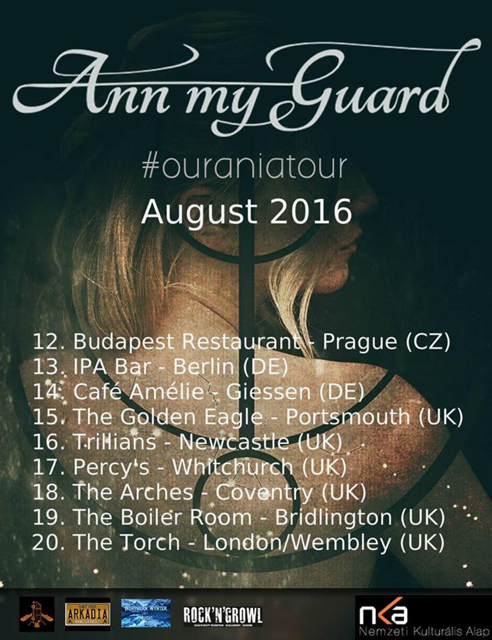 Ann my Guard Tour
