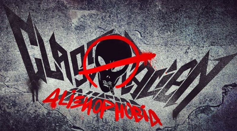 Classic Alien Invasion Alienophobia Album Cover