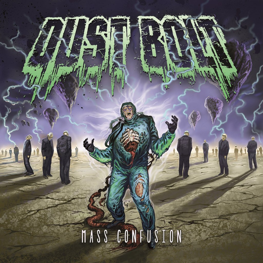 Dust Bolt Mass Confusion Album Cover