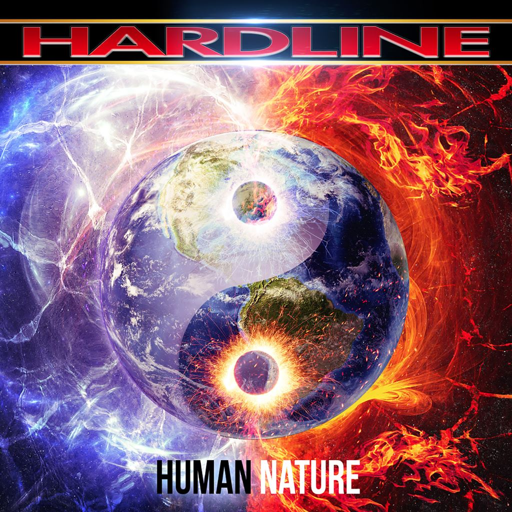HARDLINE Human Nature Album Cover