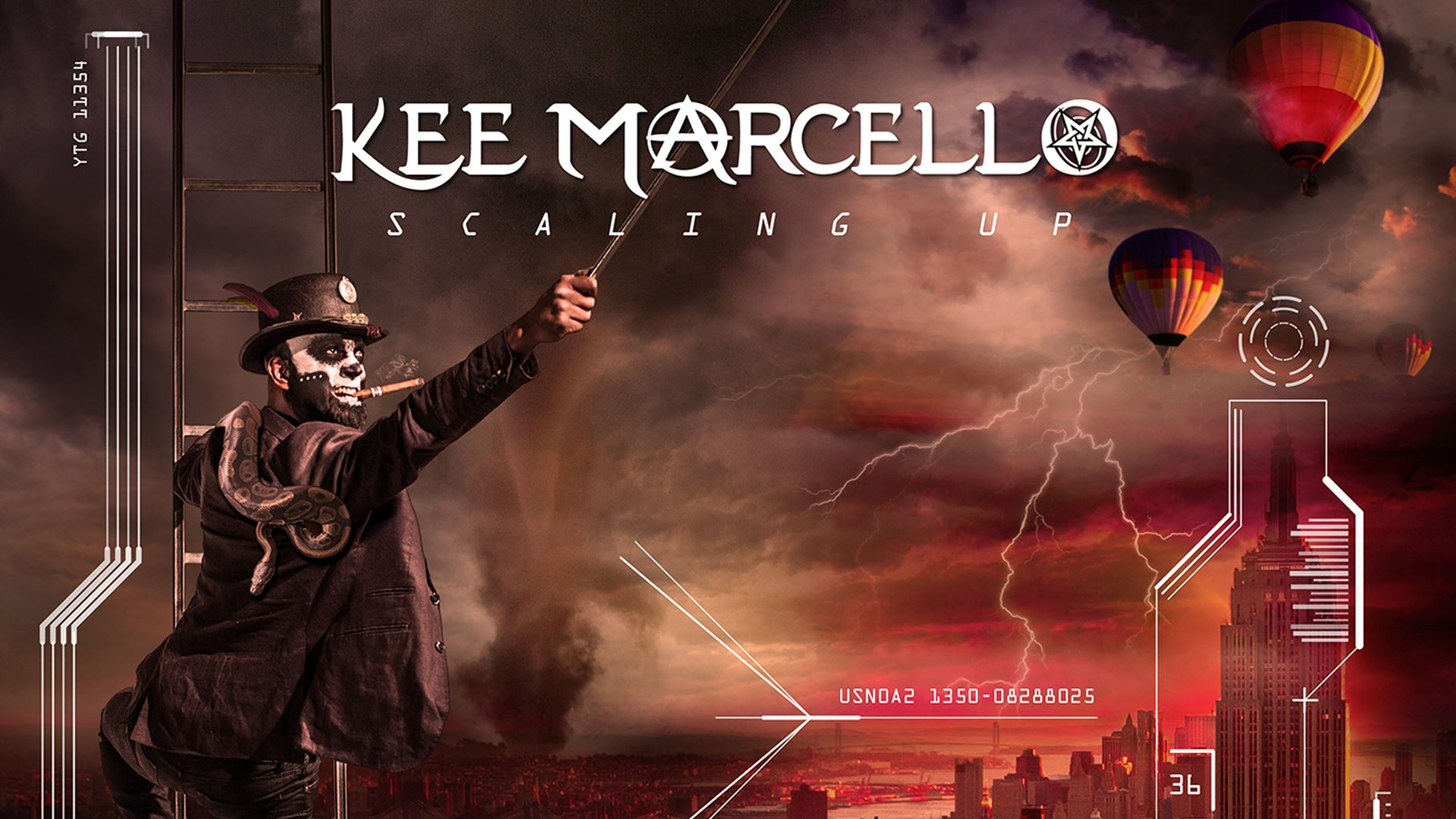 KEE MARCELLO Scaling Up Album Cover