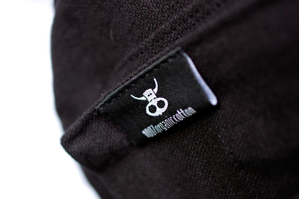 NOBS - No Bull Organic Clothing Bag Detail