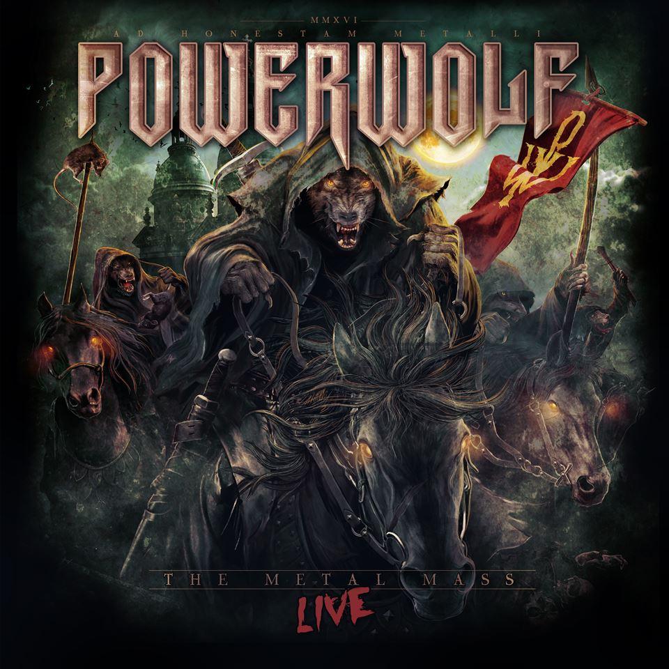 Powerwolf The Metal Mass Live DVD Cover