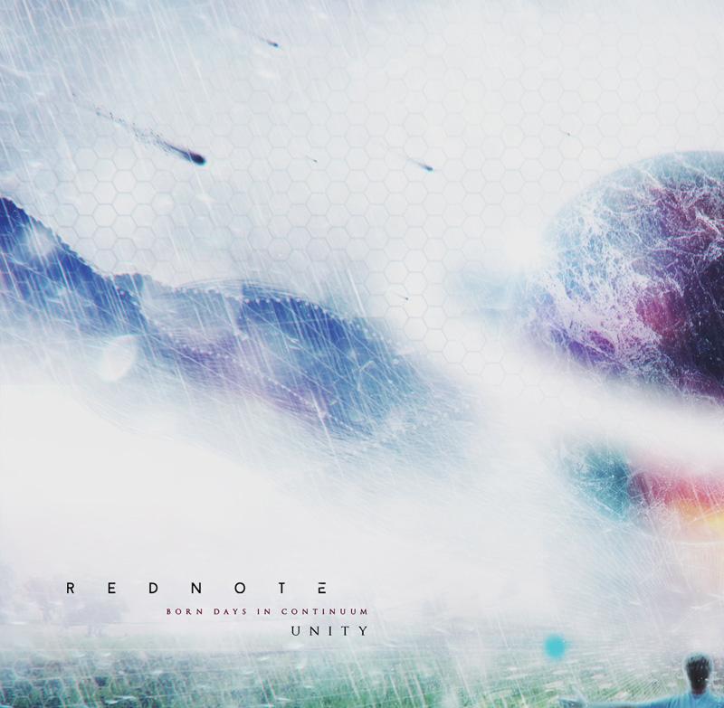 REDNOTE Born Days In Continuum Unity Album Cover