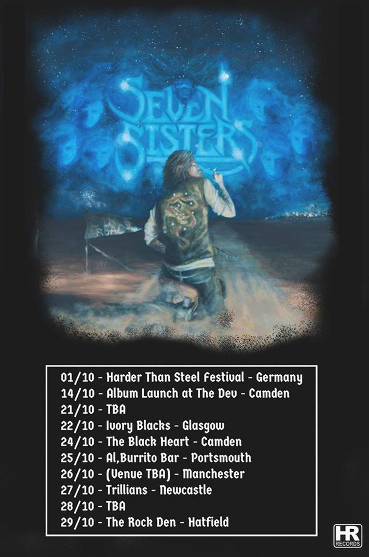 Seven Sister Tour Dates