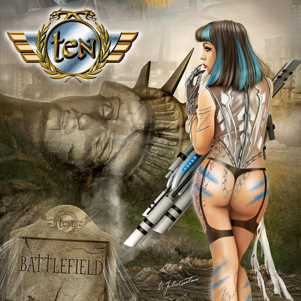 Ten Battlefield Album Cover