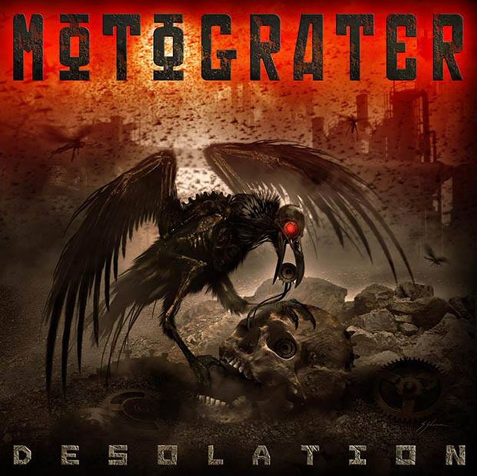 Motograter Desolation Album Cover