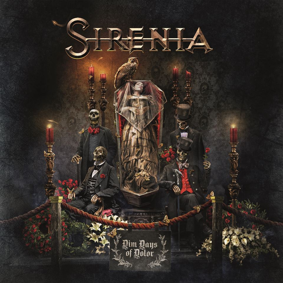 Sirenia Dim Days of Dolor Album Cover