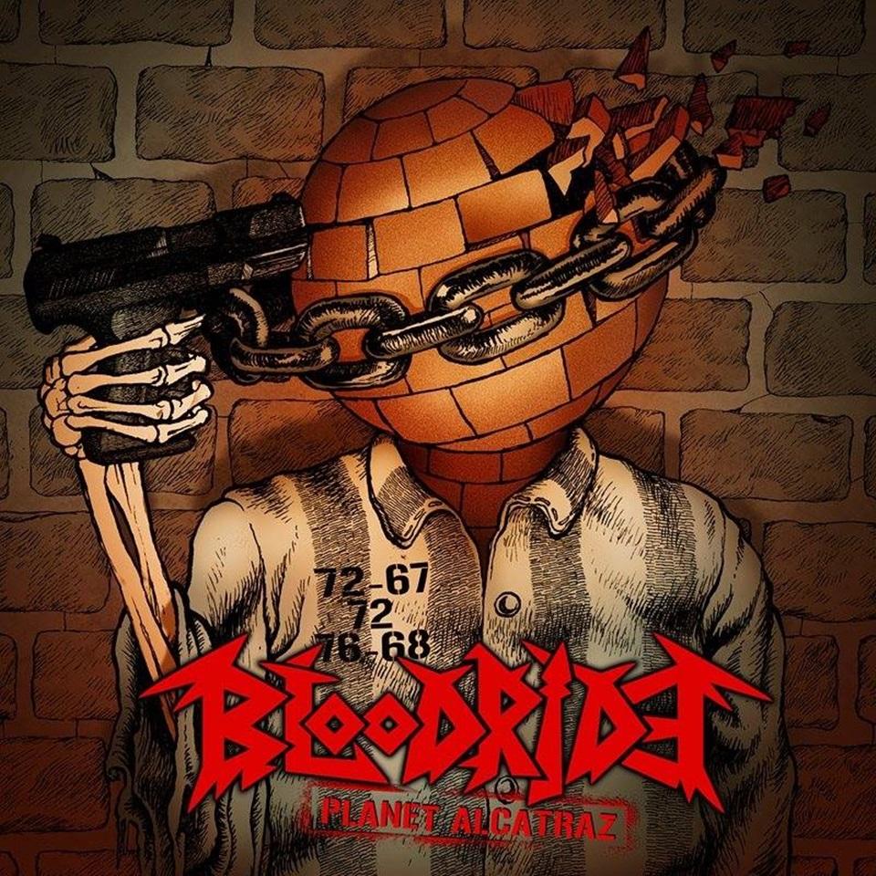 Bloodride Planet Alcatraz Album Artwork