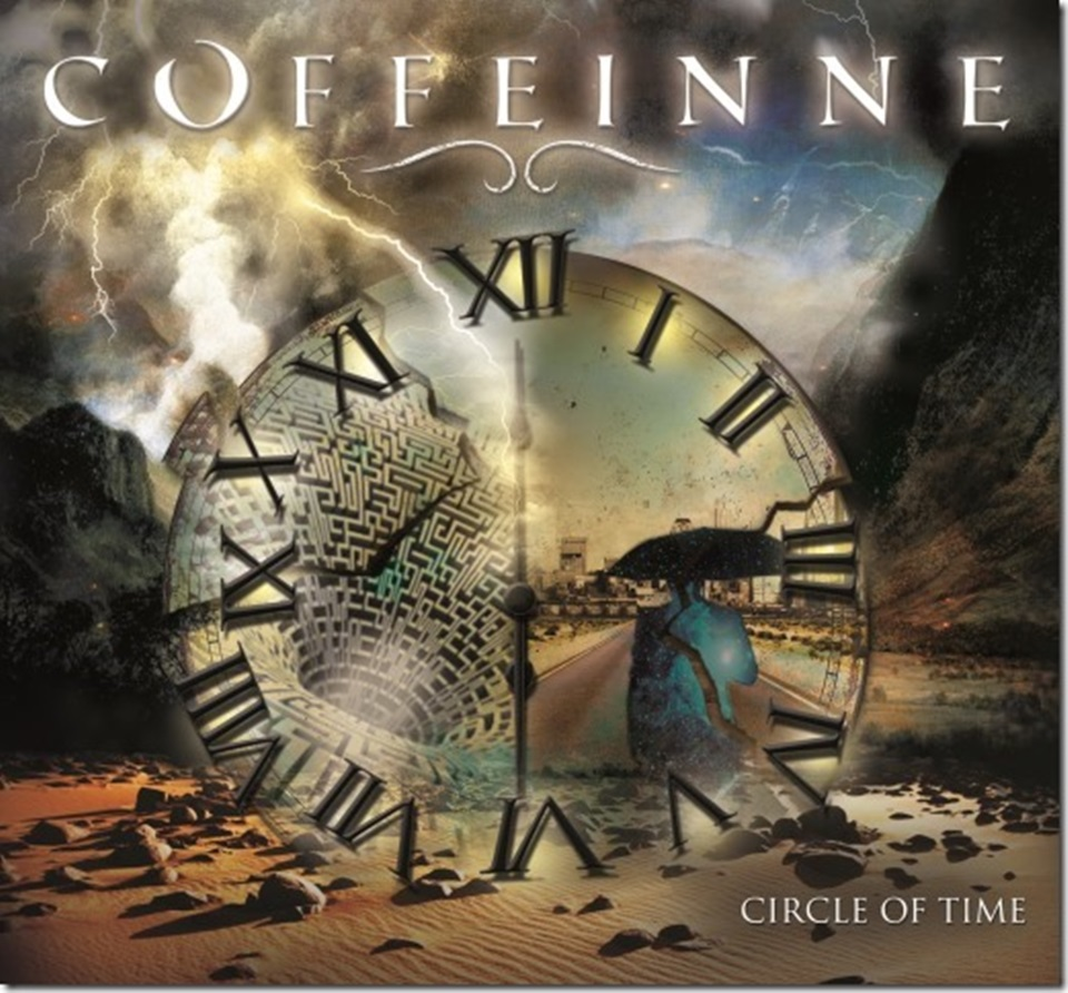 Coffeinne Circles of Time Album Artwork