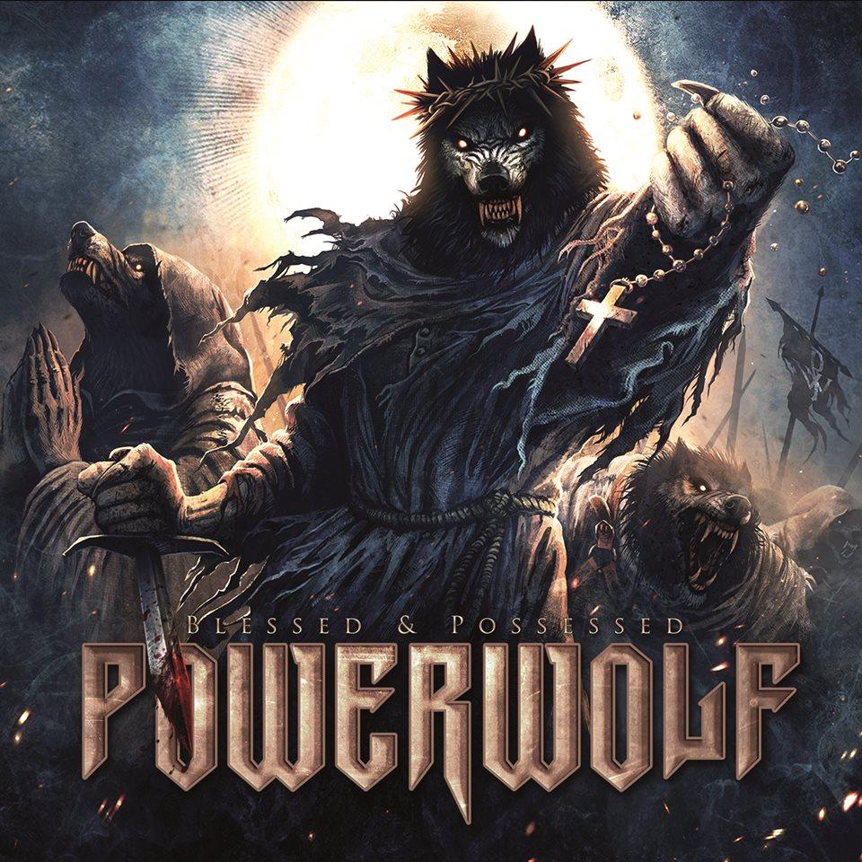 Powerwolf Blessed And Possessed Album Artwork