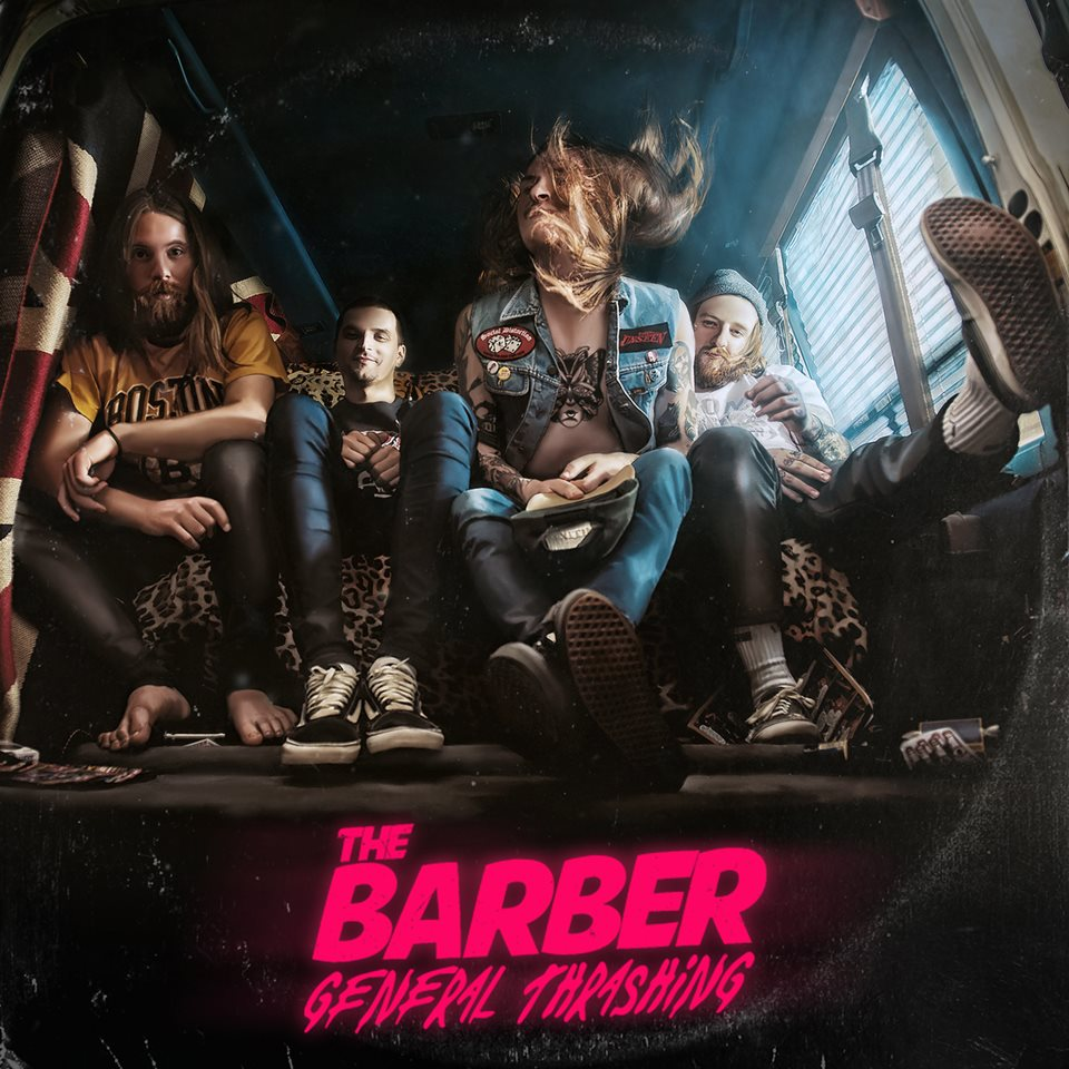 The Barber General Thrashing Album Artwork