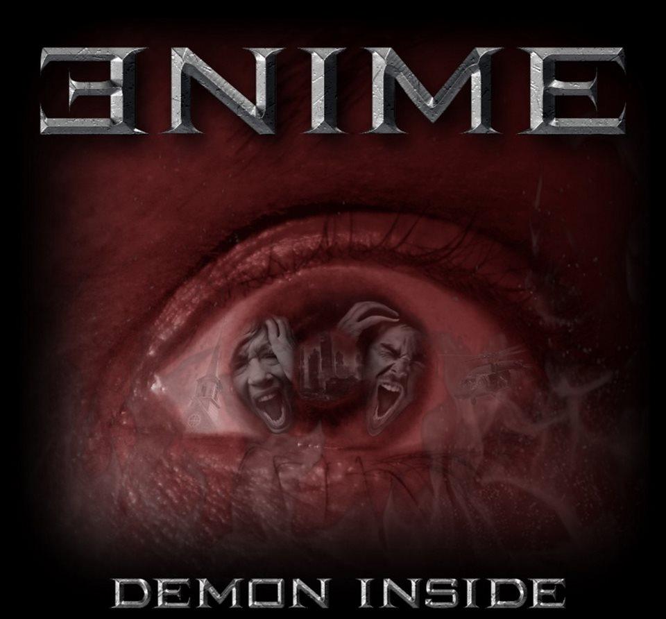 Enime Demon Inside Album Artwork