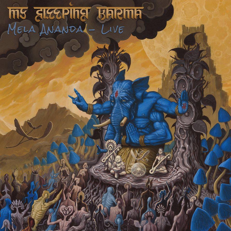 Mela Ananda My Sleeping Karma Album Artwork