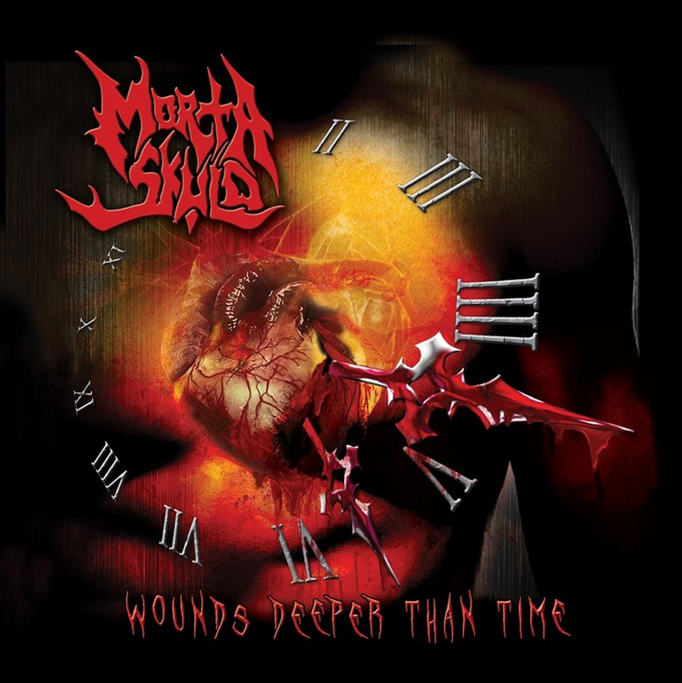 Morta Skuld Wounds Deeper Than Time Album Artwork