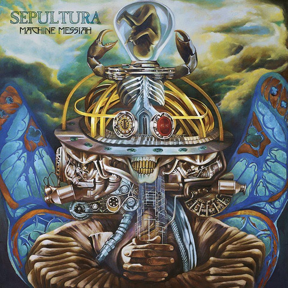 Sepultura Machine Messiah Album Artwork