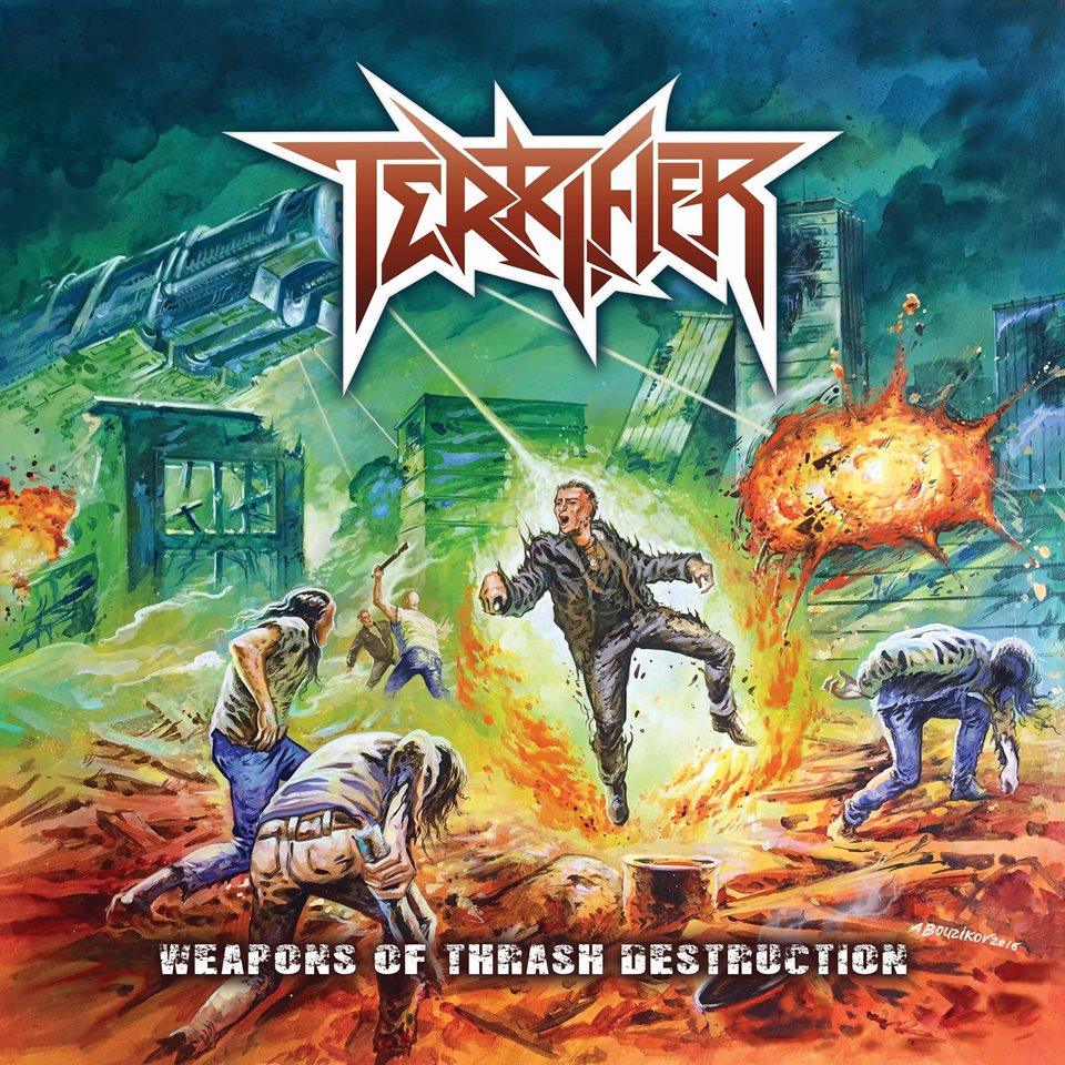 Terrifier Weapons of Trash Destruction Album Artwork